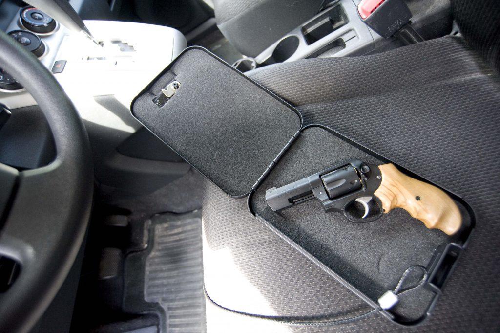 vehicle gun safe